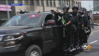 Police Union Blasts Garcetti's 'Killers' Remark, Proposal To Cut $1.8 Billion Budget