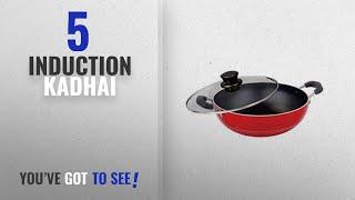 Top 10 Induction Kadhai 2018 Nirlon Non-Stick Aluminium Kadhai 3 Litres Black induction