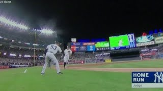 Yankees 10 Greatest Home Run Moments of 2017