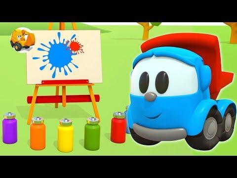 Aprende los colores para niños con Leo el Pequeño Camión