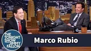 Marco Rubio Addresses His Boot Heel Controversy