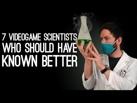 7 Videogame Scientists Who Should Have Known Better