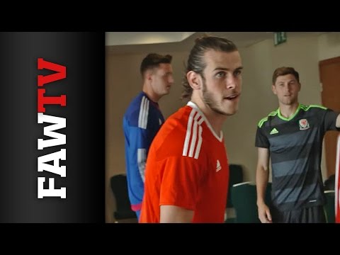 FAWTV BEHIND THE SCENES: Wales kit reveal