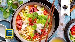 Pho Bo selber machen | Vietnamesische Pho Suppe mit Rindfleisch & Nudeln | EDEKA