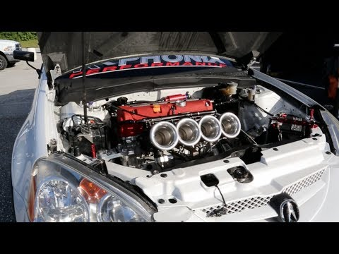 Worlds Fastest All Motor Acura RSX YouTube - Acura rsx quarter mile