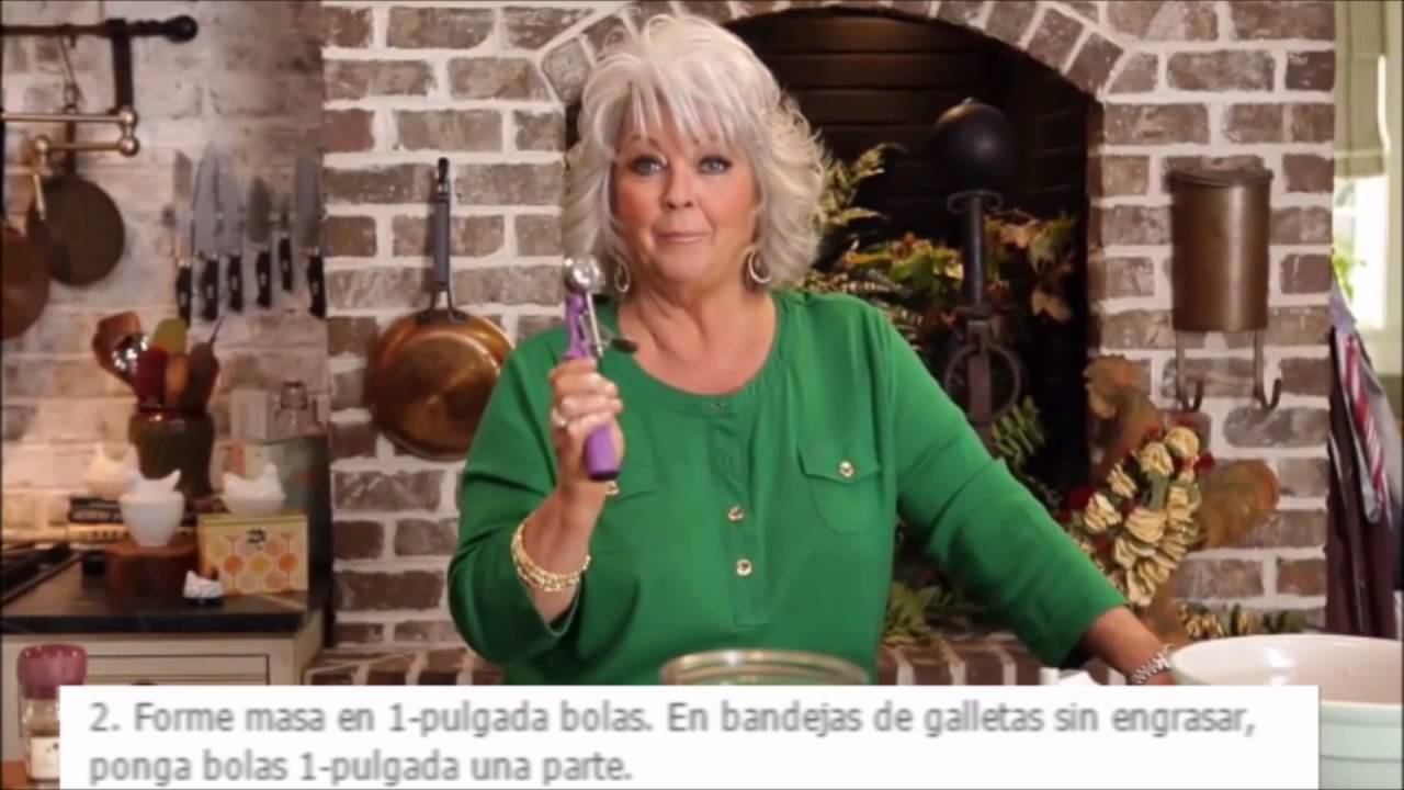 Paula Deen Makes Mexican Wedding Cakes - YouTube