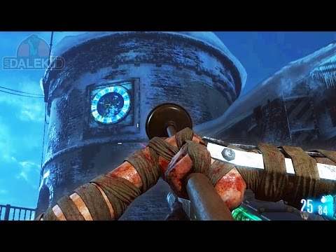 DER EISENDRACHE EASTER EGG - TIME TRAVEL & PLUNGER WEAPON! SIDE EASTER EGG (Black Ops 3 Zombies)