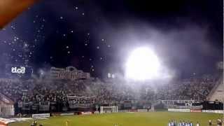 Recibimiento Olimpia vs. Universidad de Chile