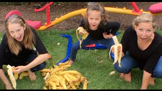Learn English Words! Make banana letters with Sign Post Kids!