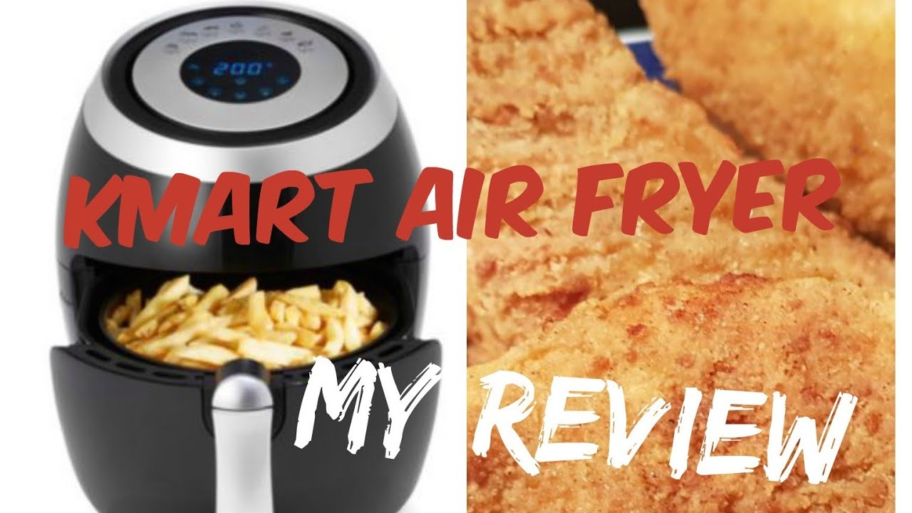 My Review On The Kmart 3 5l Air Fryer Youtube