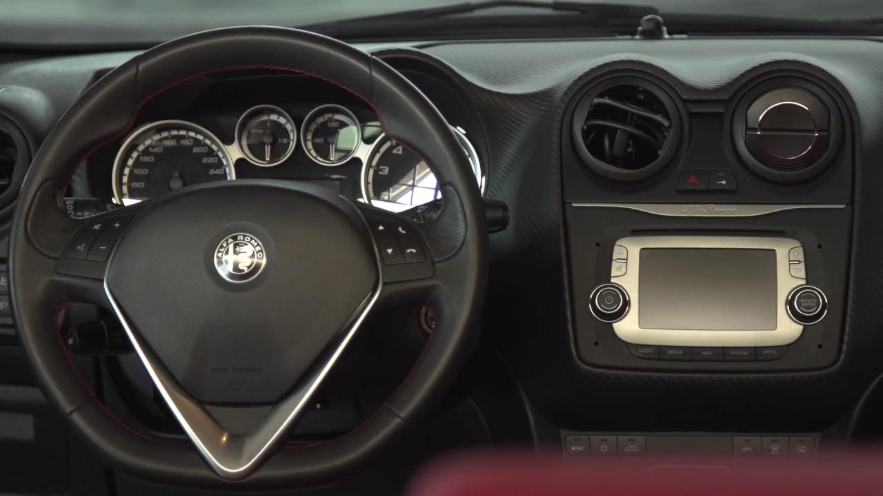 Alfa Romeo MiTo - Interior Design   AutoMotoTV - YouTube