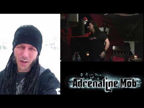 "Adrenaline Mob:  John Moyer: Tracking of ""Romeo Delight"""
