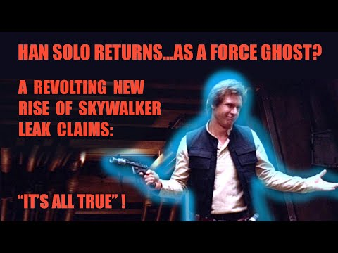 Rumor Han Solo To Return In Star Wars The Rise Of Skywalker As Force Ghost Bounding Into Comics