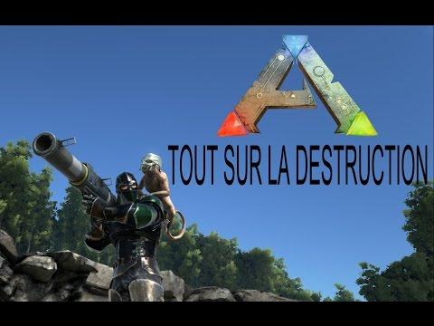 Tout Sur La Destruction - ARK Survival Evolved - Ep 04