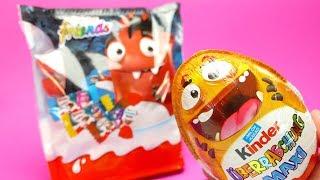Kinder SURPRISE EGG Maxi with Toys and Kinder Friends Surprise Bag