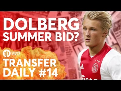 Romero, Kasper Dolberg, Januzaj  | Manchester United Transfer News | Transfer Daily #14