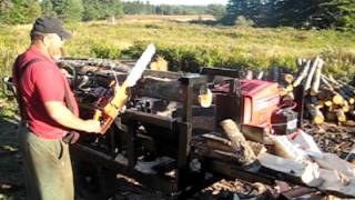 Repeat youtube video Homemade Firewood Processor