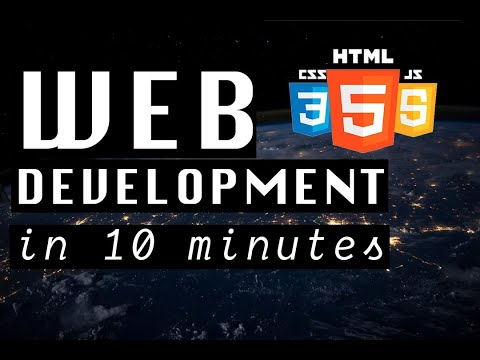 2020 WEB DEVELOPMENT Explained In 10 MINUTES