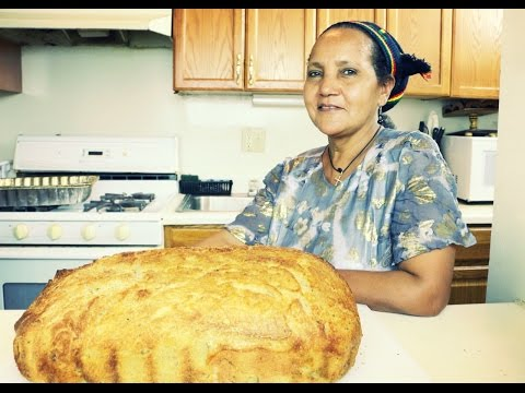 """Ethiopian Food """"How to Make Difo Dabo in America"""" የድፎ ዳቦ አሰራር"""