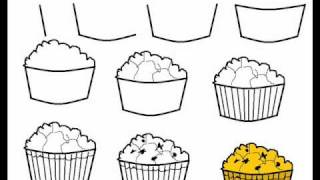 How To Draw A Muffin Step By Step Drawing Tutorial