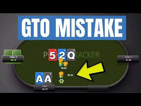 Avoid This Common GTO Bet Sizing MISTAKE