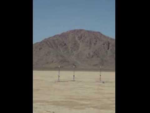 Harvey Mudd College E80 Rocket Launch (1)