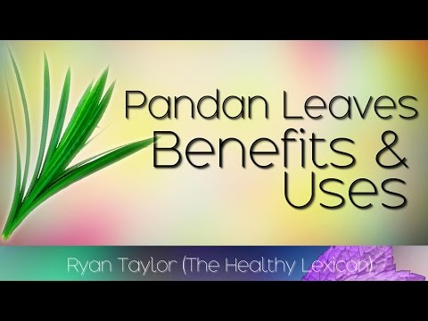 Pandan Leaves: Benefits and Uses