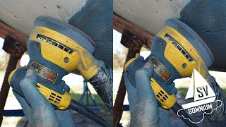 27. Sanding Flat or Sanding at an Angle, What's Quicker? - Sailing Vessel Somnium