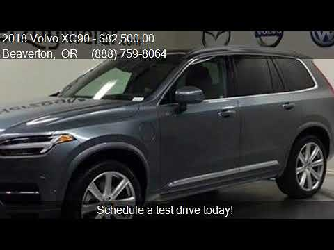 2018 Volvo XC90 T8 eAWD Inscription AWD 4dr SUV for sale in