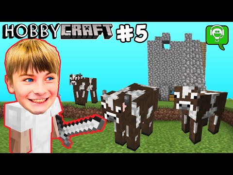 HobbyCaft Part 5 How To Make A Cow Farm