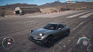 Need for Speed Payback - Drag Mazda RX-7 Abandoned Car Location and Gameplay