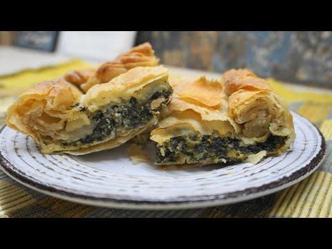 Σπανακόπιτα πεντανόστιμη με το πιο τραγανό φύλλο! – Greek Spinach pie | Greek Cooking by Katerina