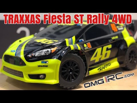 OK TRAXXAS... UNBOX... WHAT!!!!😱  1/10 Scale Ford Fiesta® ST Rally