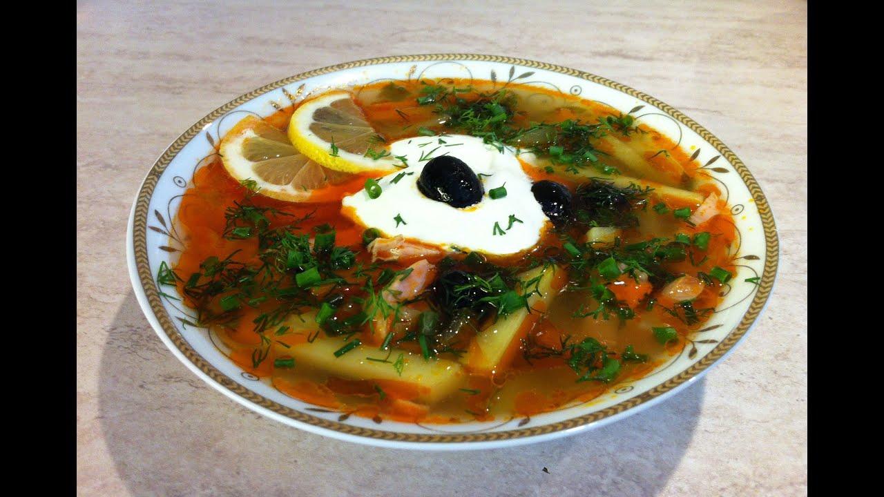 1 блюда рецепты.солянка