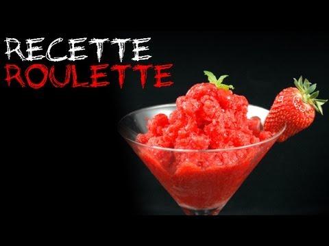 Granité aux fraises