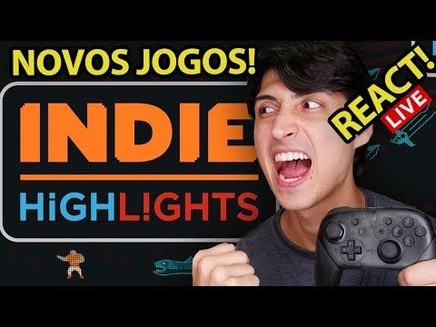 Nintendo INDIErect Janeiro 2019 Live REACT! Indie Showcase