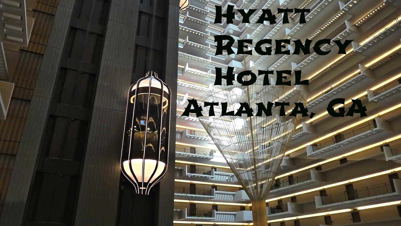 Elevator Trio Otis Traction Gl Elevators The Hyatt Regency Hotel In Atlanta Ga You