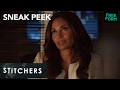 Stitchers | Season 3, Episode 1 Sneak Peek: Linus Talks to Maggie | Freeform