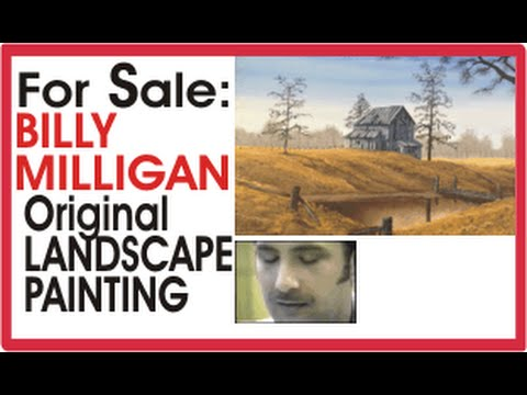 Billy Milligan Painting For Sale - Original Landscape - Multiple-Personality Billy Milligan Painting