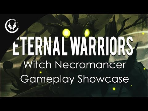 """Path Of Exile 3.5 - Summon Skeletons """"Eternal Warriors"""" Witch Necromancer Gameplay Showcase"""