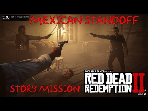 Image result for red dead redemption mexican standoff
