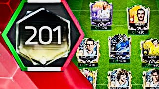 200 OVR ! HIGHEST OVR TEAMS IN FIFA MOBILE / My biggest icons upgrade and Treasure Elite Rewards