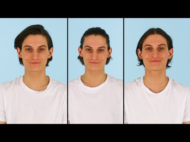 How To Style Medium Length Hair 3 Ways Asos Menswear Grooming Tutorial Youtube