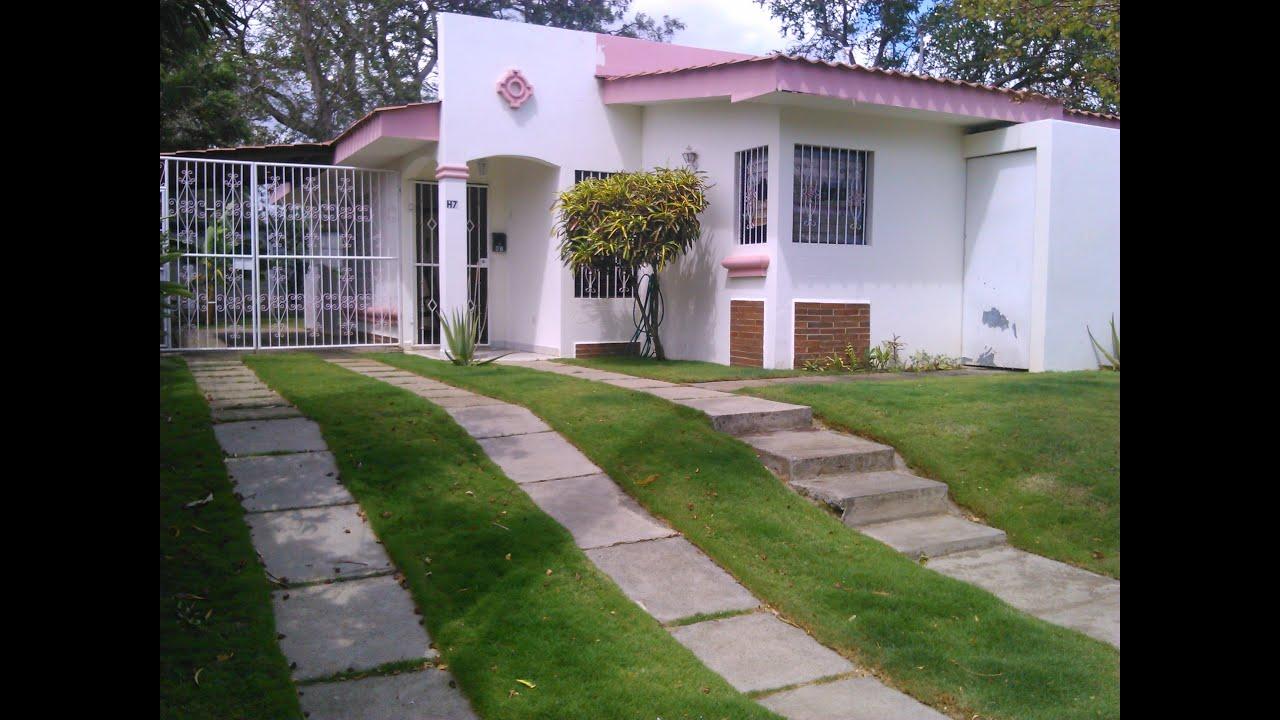Venta casa entrada a veracruz ticuantepe managua youtube - Entradas de casas modernas ...