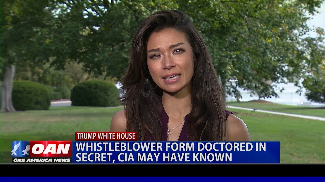 OAN Whistleblower Form Secretly Changed; CIA May Have Known