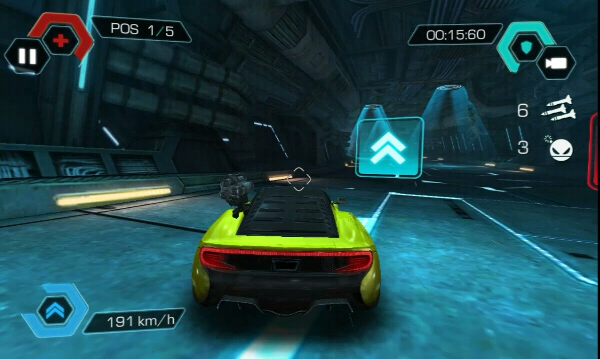 Cyberline racing Android gameplay HD - YouTube