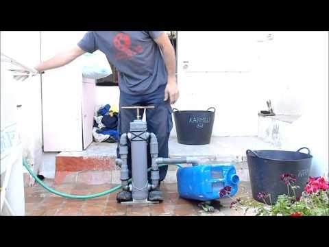 Bomba manual casera para meter antical en calentador e - Bomba manual de agua ...