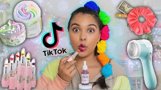 Testing Weird TikTok Products! *beauty, fashion, skincare gadgets*