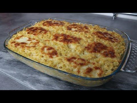 Gratin de pâtes aux 4 fromages facile et rapide