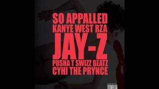 Kanye West-So Appalled ft. RZA, Pusha T, Jay-Z, + Download Link